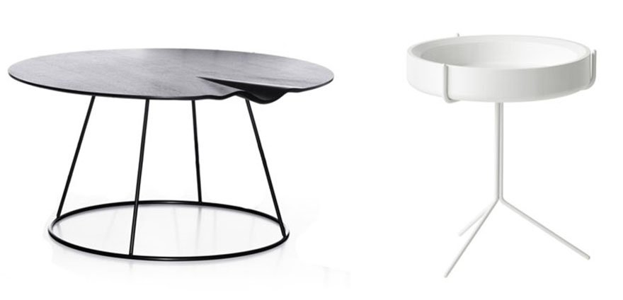 Breeze Drum Coffee Tables