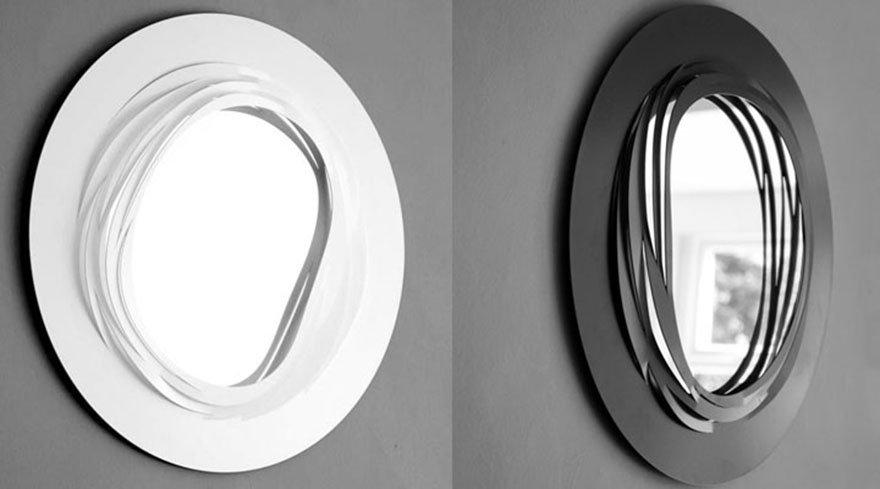 Kirigram Coronet Mirror